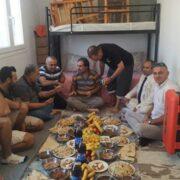 Επίσκεψη στη δομή φιλοξενίας προσφύγων στη Ριτσώνα